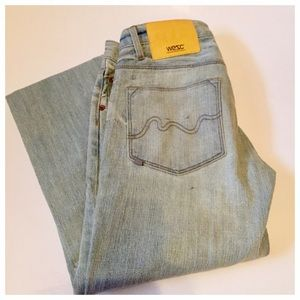 WESC Eve Style 5 Pocket, Straight Cut Jeans, 26